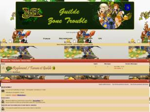 Guilde Zone-Trouble Dofus