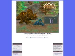 Zoo tycoon French Generation II