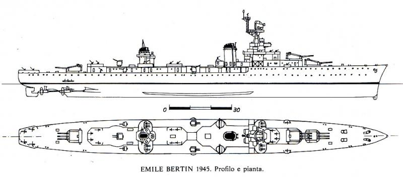 FRANCE CROISEUR LEGER EMILE BERTIN 118452Emile_Bertin_1