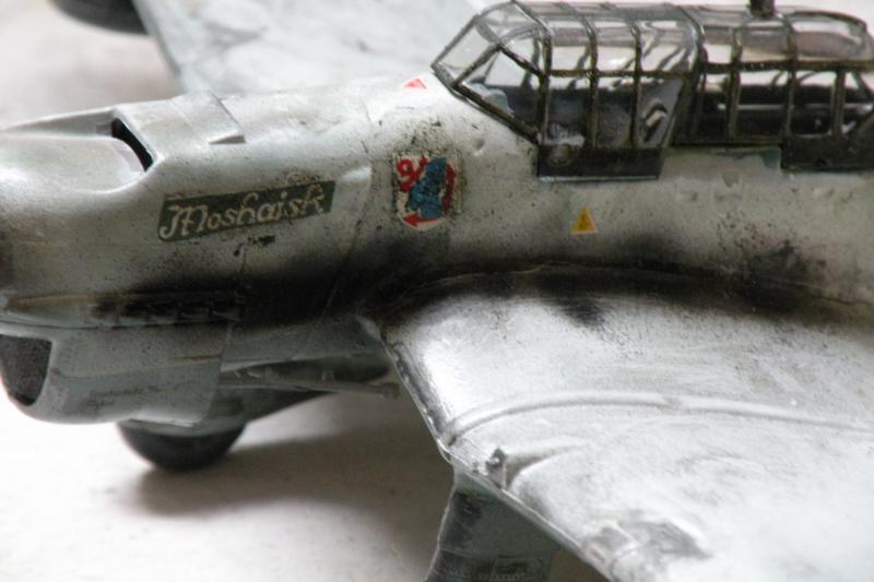 Stuka Heller ex Airfix  1/48 12653DSCN0606