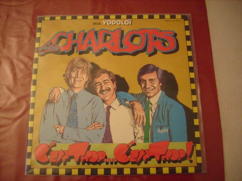 LP'-LES CHARLOTS-C'EST TROP-1982-BARCLAY REC 139218char1