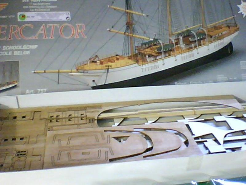 Navire-école belge Mercator au 1/120è - mantua 146334Snapshot068