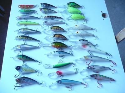 lot poissons nageurs pour pêche des carnassiers 150543P1010241