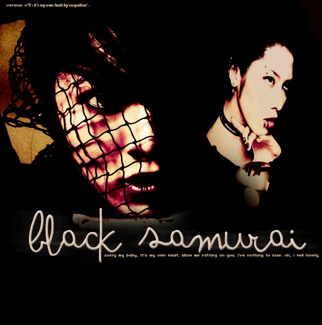 NEO TOKYO SAMURAI BLACK