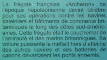 ACHERON Fregate Francaise 1:200 ZVEZDA 185698acheron