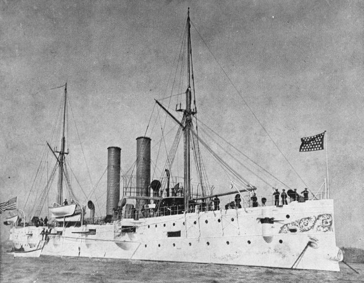 USN CROISEURS LEGERS CLASSE OMAHA - Page 1 18943USS_Detroit_croiseur_de_troisieme_classe