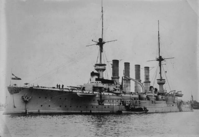 ALLEMAGNE CROISEUR DE BATAILLE SMS VON DER TANN 191800SMS_Roon
