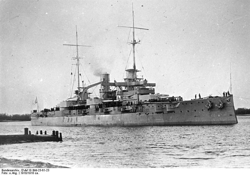 ALLEMAGNE CUIRASSES CLASSE NASSAU 191811SMS_Rheinland_classe_Nassau