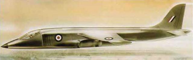 BRITISH AEROSPACE HARRIER ET SEA HARRIER 20808Hawker_Siddeley_P.1154
