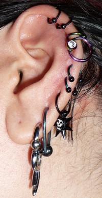 Piercings : Les plus courants 222086P1000170