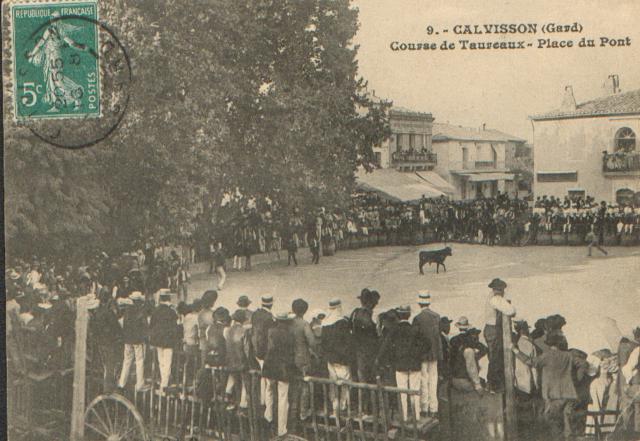 CALVISSON course dans les années 1900 261313CARTE13