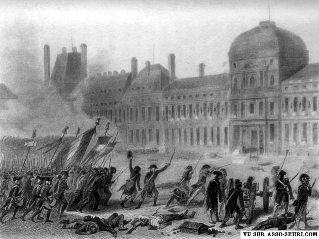 10 août 1792 : la prise des Tuileries et la Garde Constitutionnelle du Roi 271684prise_des_Tuileries_10_aout_1792