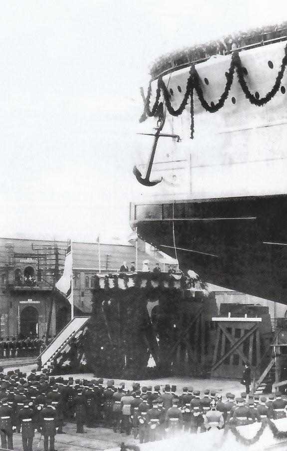 ALLEMAGNE CUIRASSES CLASSE HELGOLAND 281757Ostfriesland_1909