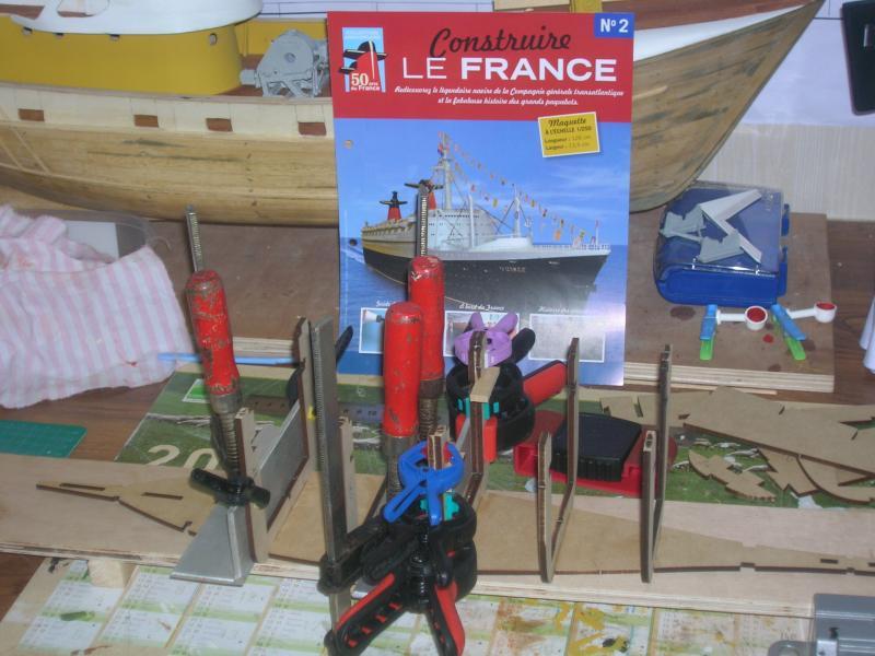 """LE FRANCE  échelle 1/250      Amati/Hachette"""" 288672DSCN1437"""