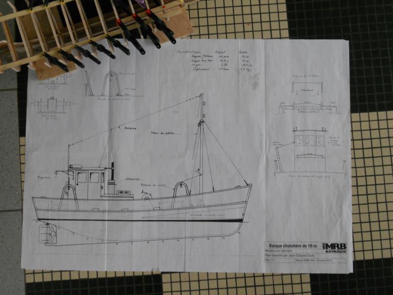 barque chalutiére au 1/20è d'après plans 288725DSCN0258