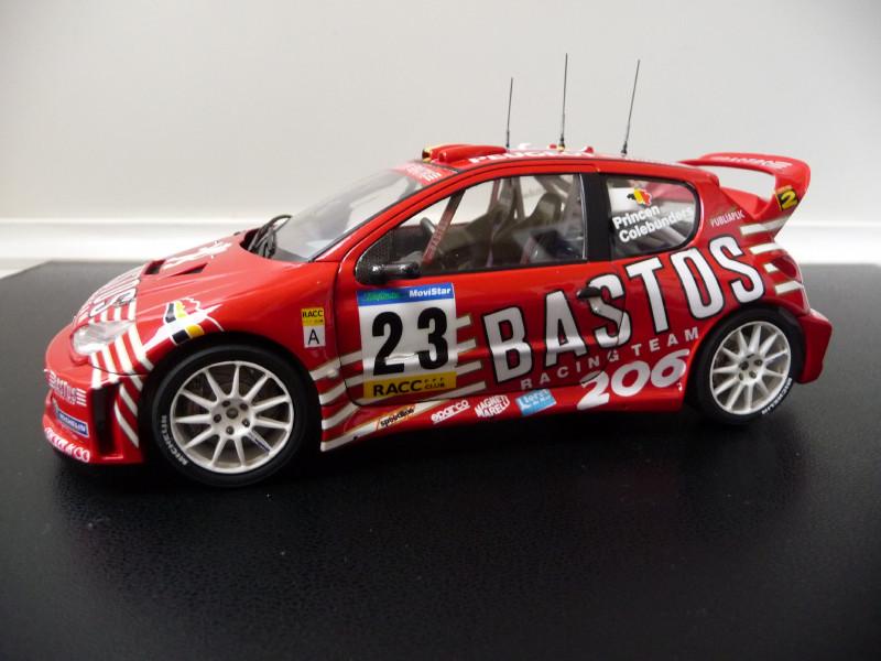 Peugeot 206 WRC Bastos 292779P1000395