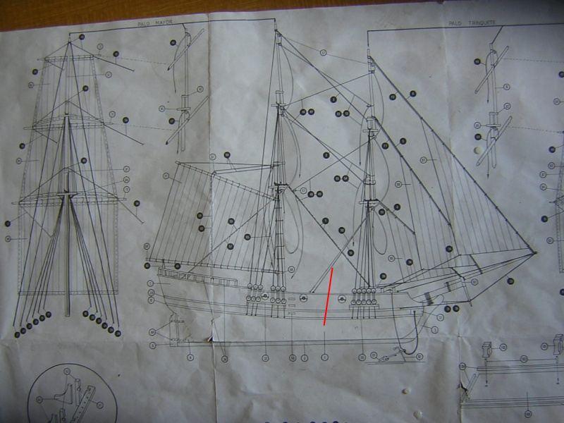 L'Union Brigantin Constructo au 1/100ème en bois - Page 3 298260dscn1518