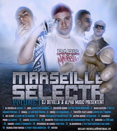 MARSEILLE SELECTA produit par DJ DEFKILLA 3138412779956586_small_1