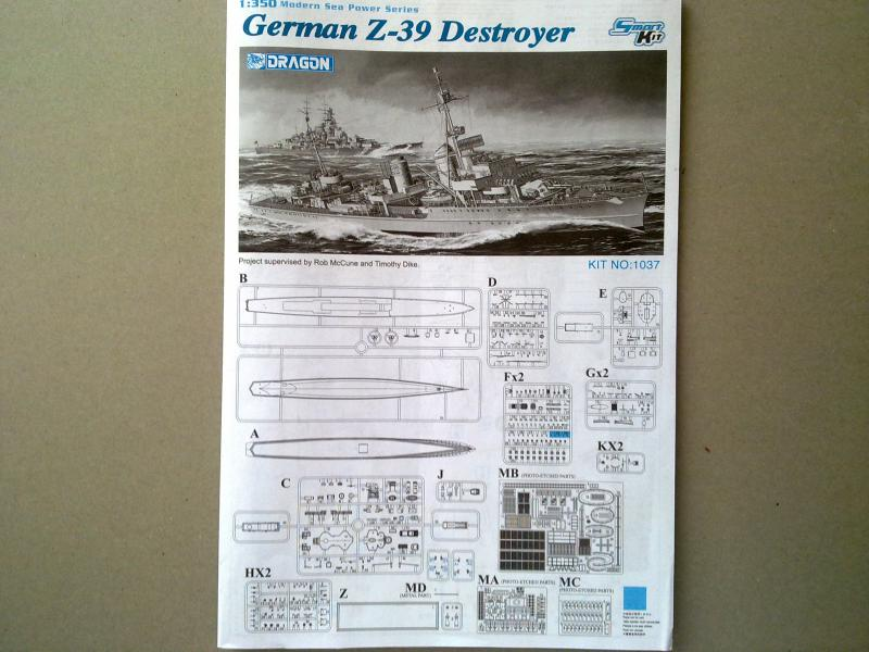 Destroyer Z-39 de Dragon au 1/350 338172060420111334