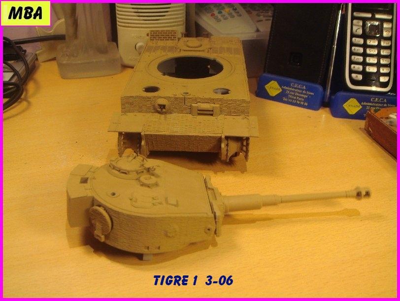 Char Tigre 1 au 1/35ème Dragon 351981tigre306