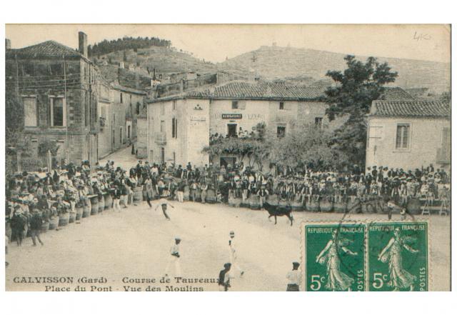 CALVISSON course dans les années 1900 379801CARTE11