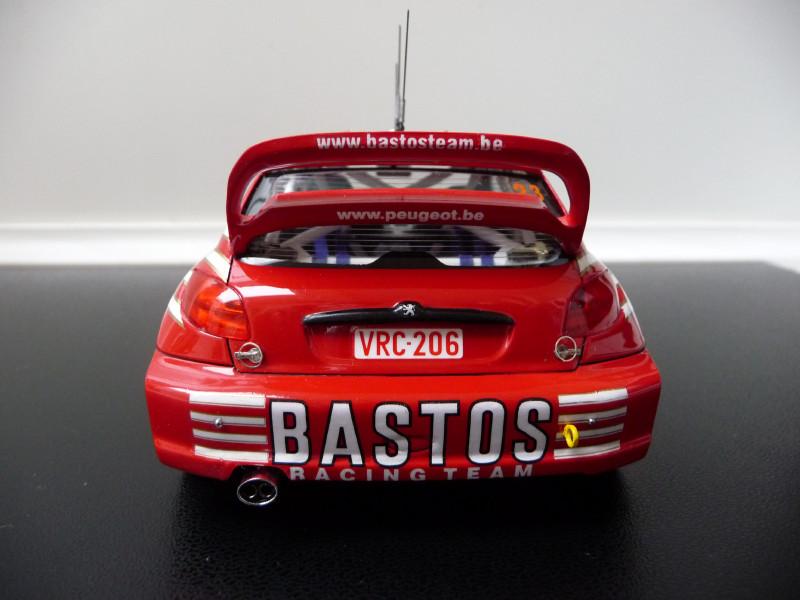 Peugeot 206 WRC Bastos 382389P1000390