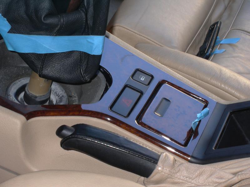 [BMW 530 d E39] Rénovation intérieure d'un Pack Sport M 395403P1000081