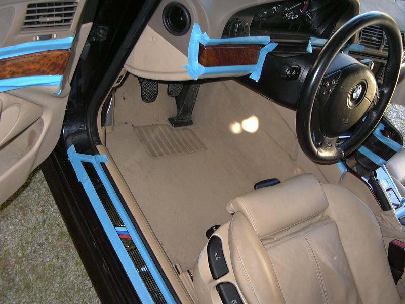 [BMW 530 d E39] Rénovation intérieure d'un Pack Sport M 434075P1000064