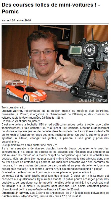 Nos apparition dans les journaux 440831Article_de_presse_Ouest_France_le_30.01.10