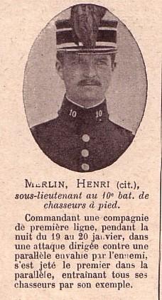 Monument du 10e BCP 445932MERLIN_Henri_SLT_10eme_B.C.P