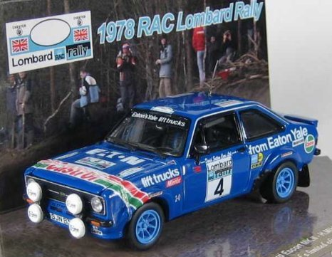 carroserie 1.24 464118Ford_Escort_RS1800_MkII_RAC_Rally
