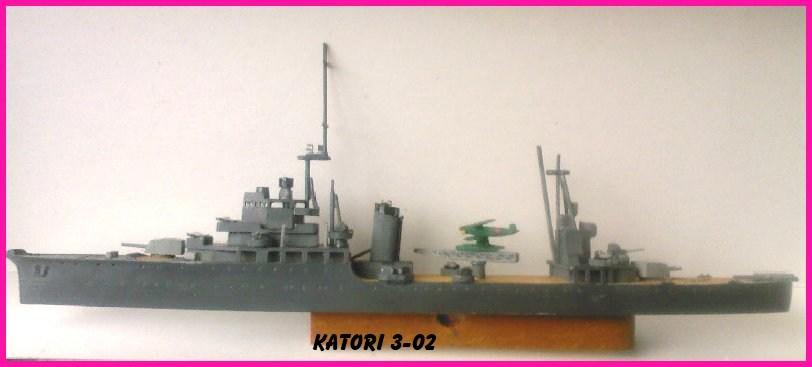 CROISEUR KATORI au 1/700 par l'ancien - AOSHIMA 491634Katori_3_02