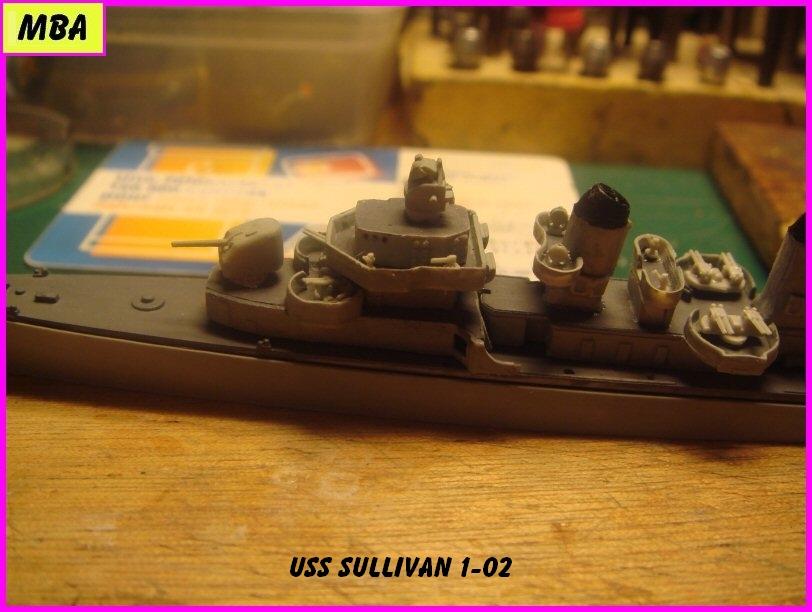 USS the Sullivan DD 537 au 1/700 trumpeter 495252usssullivan102