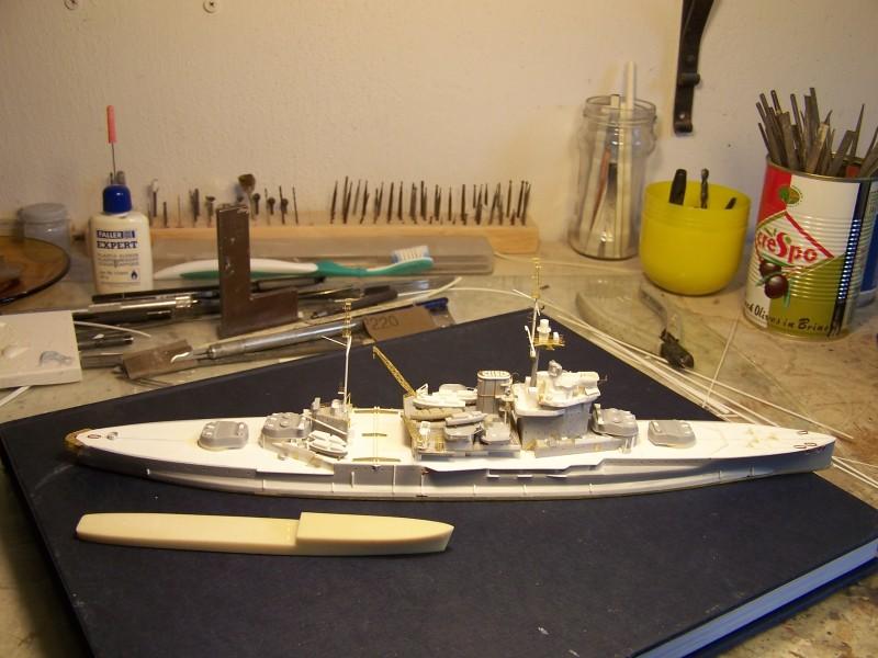 Hms Warspite airfix 1/600 - Page 2 517049hmswarspite049