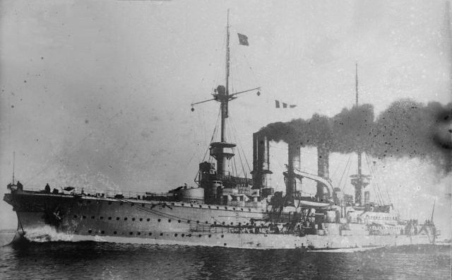 ALLEMAGNE CROISEUR DE BATAILLE SMS VON DER TANN 525031SMS_Prinz_Adalbert