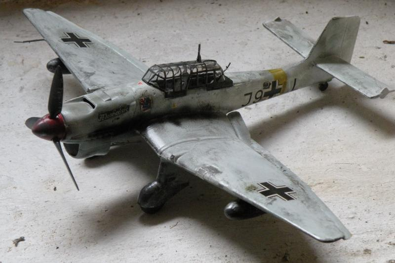 Stuka Heller ex Airfix  1/48 536654DSCN0605