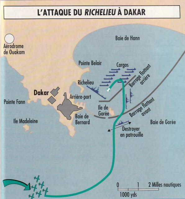 FRANCE CUIRASSES CLASSE RICHELIEU 550831Dakar