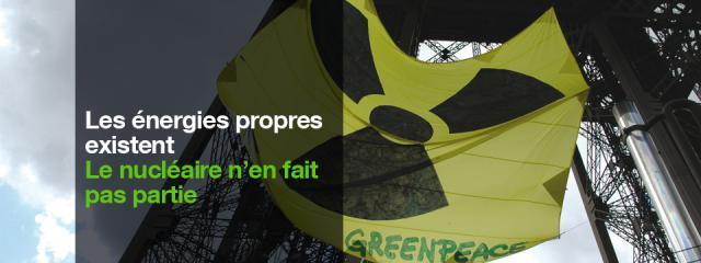 Halte à l'énergie nucléaire / Greenpeace Canada 55107GPC_FR_NUCLEAR_2