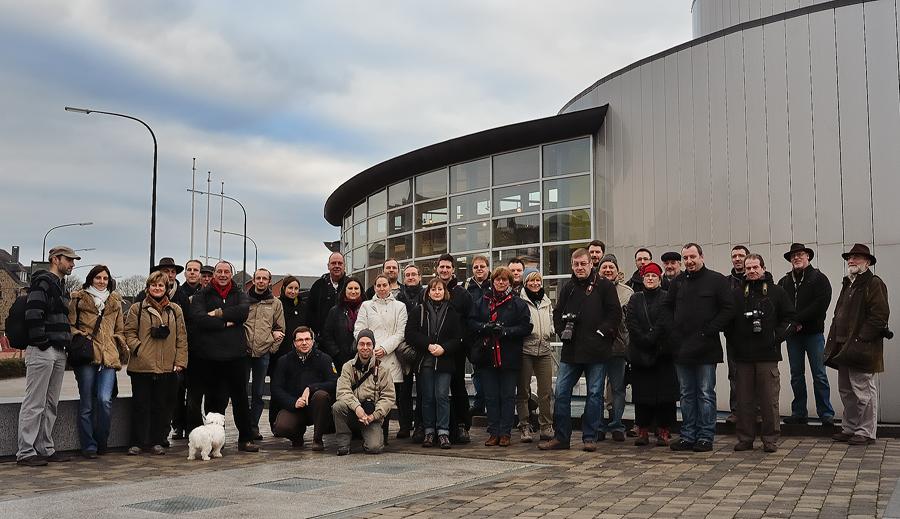 Sortie 3ème anniversaire le 16 janvier 2011 à Marche en Famenne : Les photos d'ambiances 554039PIE2043coets9949