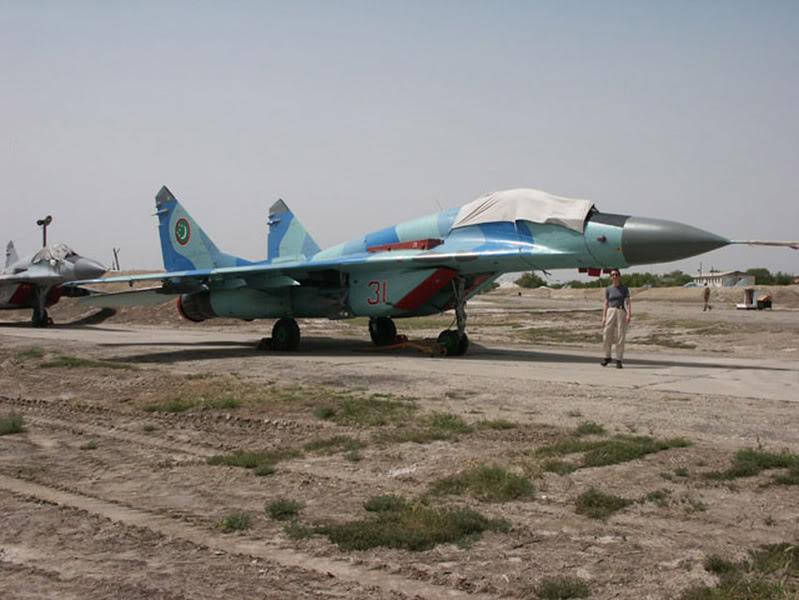 Aviation du Turkmenistan. 57017MiG_29S_Fulcrum_C_turkmenistan