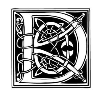 J'aime les entrelacs et autres dessins celtiques - Page 12 578418modele_tatouage_ecriture_celtique_D