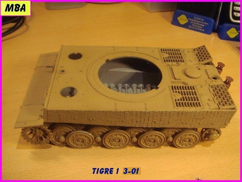 Char Tigre 1 au 1/35ème Dragon 593413tigre301