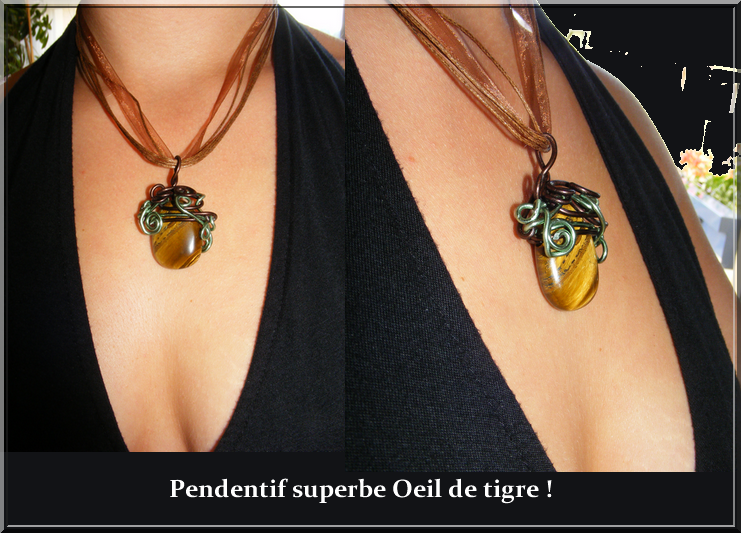 Mes 1re créa Pierres et fil d'alu ou cuivre !! - Page 2 597216Oeil_de_tigre