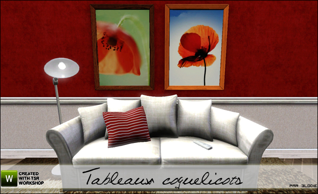 Galerie d'3lodiie !  609431tableauxcoquelicots