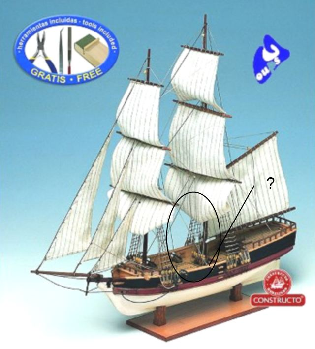 L'Union Brigantin Constructo au 1/100ème en bois - Page 3 612336constructo_