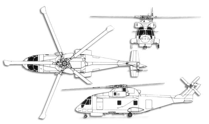 AGUSTA-WESTLAND AW-101 MERLIN 626613AW101