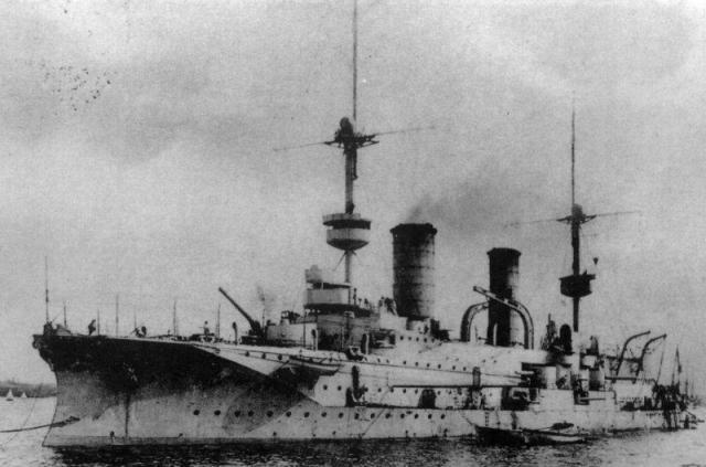 ALLEMAGNE CROISEUR DE BATAILLE SMS VON DER TANN 661701SMS_Prinz_Heinrich