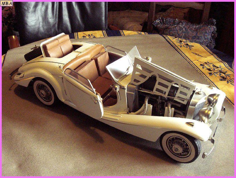 Mercedes Benz 540 K Cabrio Spécial.   au 1/8ème 662603Mercedes_540k_01