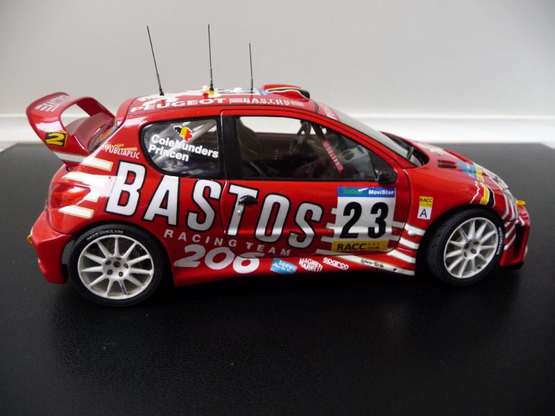 Peugeot 206 WRC Bastos 678452P1000391