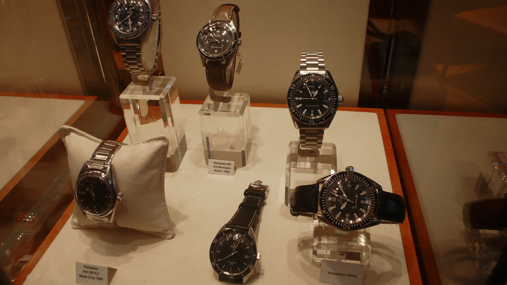 Boutique Omega Vintage à Londres, une bonne idée 680794P1060188